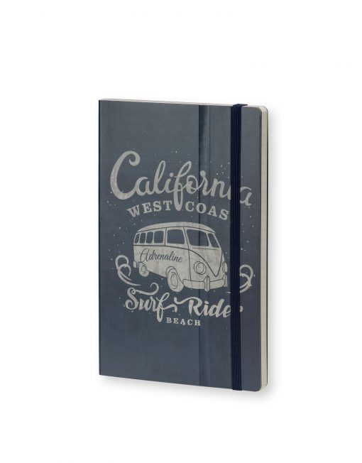 Stifflexible Notebook California Adrenaline Blue
