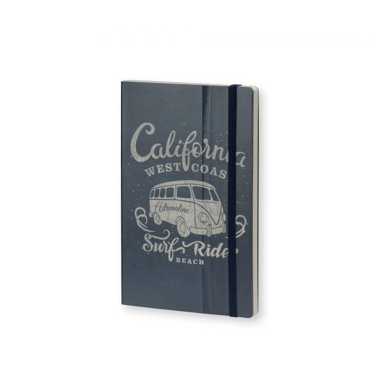 Stifflexible Notebook California Adrenaline Blue