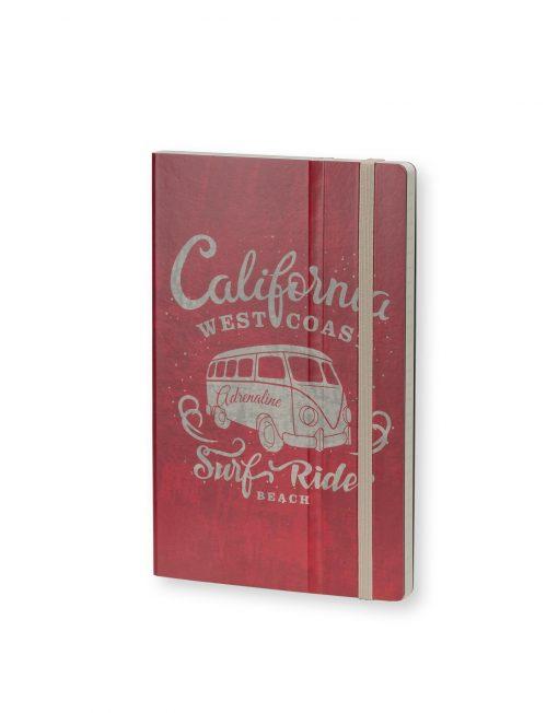 Stifflexible Notebook California Adrenaline Red
