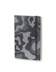 Stifflexible Notebook Camouflage Standard Gray