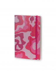Stifflexible Notebook Camouflage Standard Fuchsia