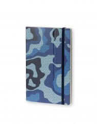 Stifflexible Notebook Camouflage Standard Blue