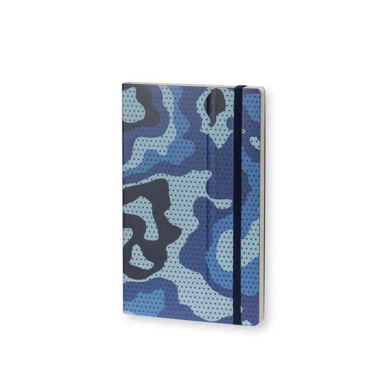 Stifflexible Notebook Camouflage Standard Blue