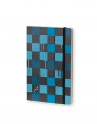 Stifflexible Notebook Chess Blue