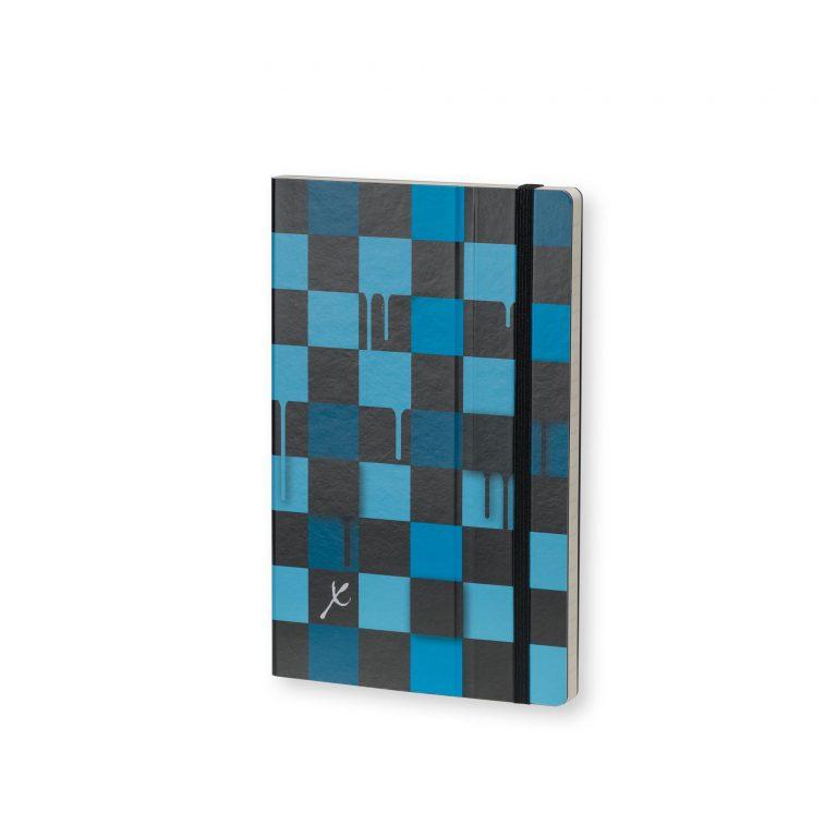 Stifflexible Notebook Chess Blue