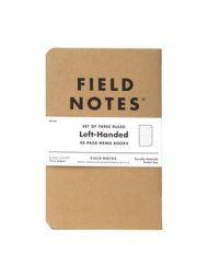 Field Notes Left-Handed Ruled Kraft Notebook