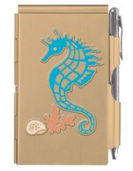 Wellspring Flip Note Coastal Seahorse # 1612