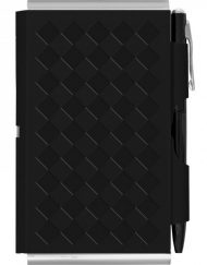 Wellspring Flip Note + Wallet Diamond Black # 2356
