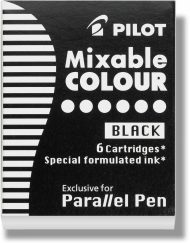 Pilot Parallel Pen Ink Cartridges Black