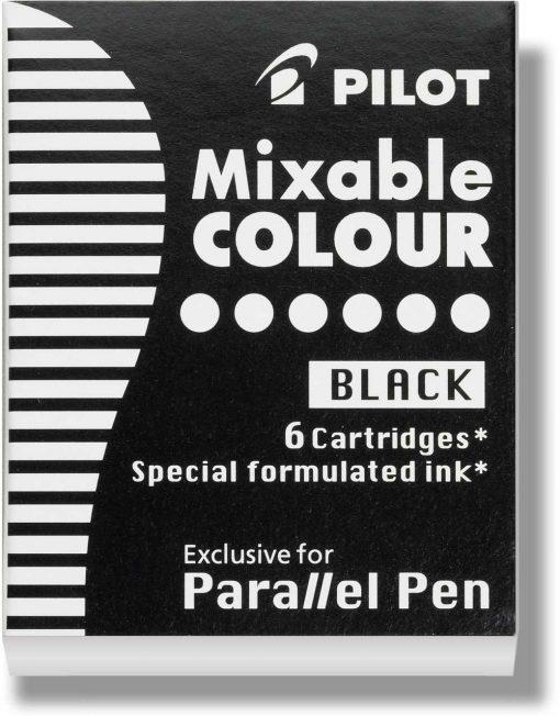 Pilot Parallel Pen Ink Cartridges Black