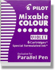 Pilot Parallel Pen Ink Cartridges Violet