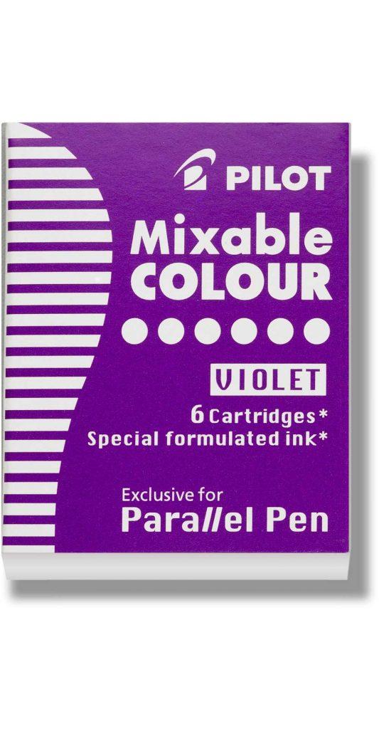 Pilot Parallel Pen Ink Cartridges Violet