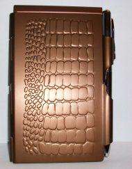 Wellspring Flip Note Pink Croc # 1526