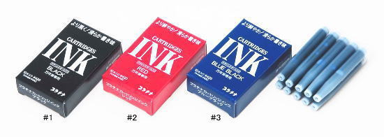 Platinum Fountain Pen Ink Cartridges 10-pack