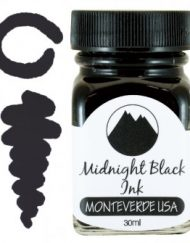 MonteVerde 30ml Bottled Ink Midnight Black