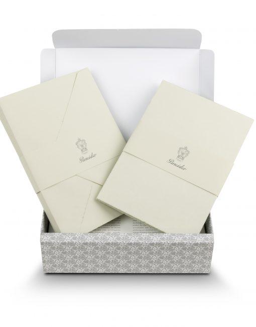 Pineider Stationery Florentia Ribbon Grey