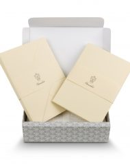 Pineider Stationery Florentia Ribbon Suede
