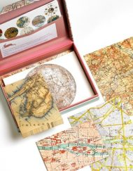 Pepin Letter Writing Set Maps