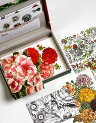 Pepin Letter Writing Set Flower Prints