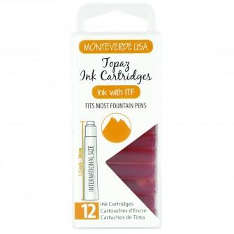 MonteVerde 12-pack Ink Cartridges Topaz Gemstone