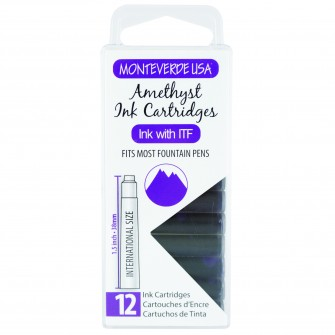 MonteVerde 12-pack Ink Cartridges Amethyst Gemstone
