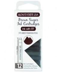 MonteVerde 12-pack Ink Cartridges Brown Sugar