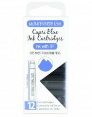 MonteVerde 12-pack Ink Cartridges Capri Blue