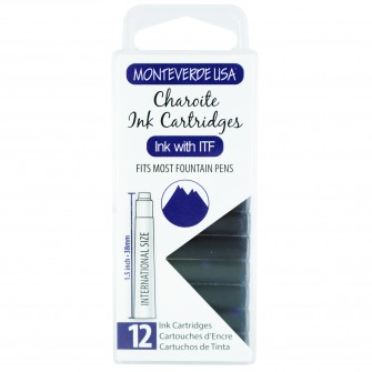 MonteVerde 12-pack Ink Cartridge Charoite Gemstone