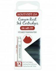 MonteVerde 12-pack Ink Cartridges Canyon Rust