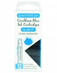 MonteVerde 12-pack Ink Cartridges Caribbean Blue