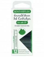 MonteVerde 12-pack Ink Cartridges Emerald Green