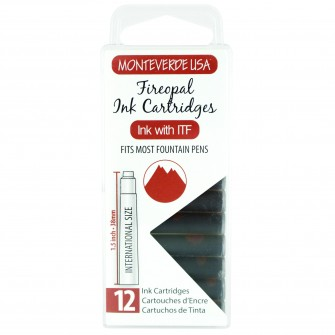MonteVerde 12-pack Ink Cartridges Fireopal Gemstone