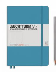Leuchtturm1917 A5 Notebook Nordic Blue Dotted