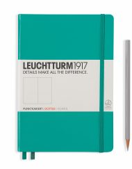 Leuchtturm1917 A5 Notebook Emerald Dotted