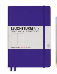 LEUCHTTURM1917 A5 NOTEBOOK PURPLE DOTTED