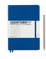 Leuchtturm1917 A5 Notebook Royal Blue Ruled