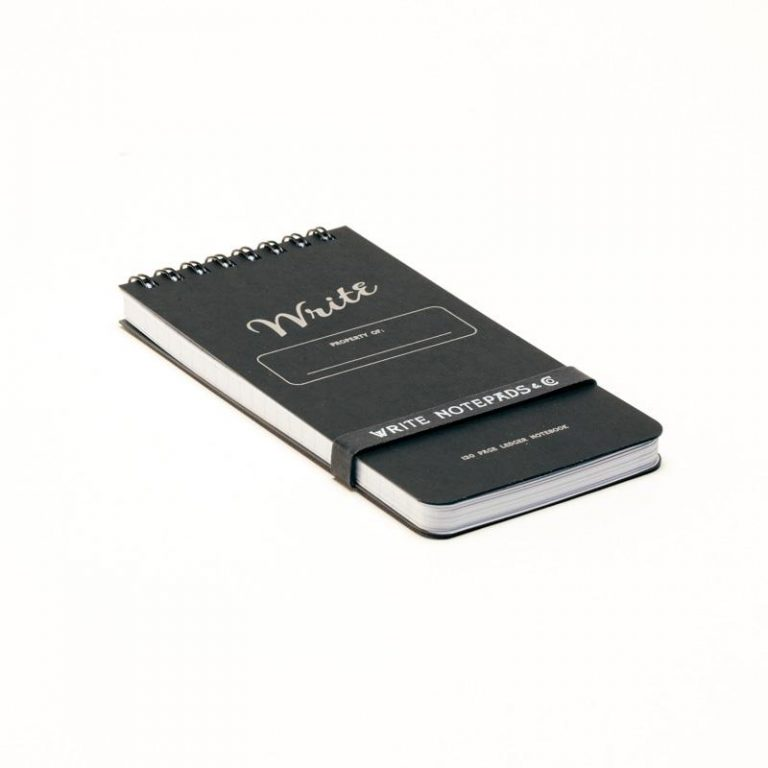 Write Pocket Ledger-Black