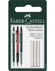 Faber-Castell TK Vario 3-pack Pencil Erasers