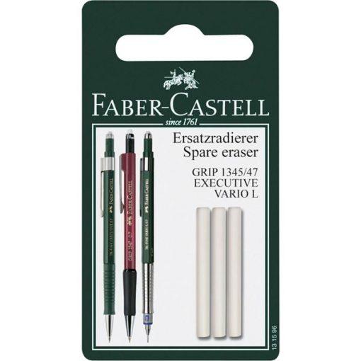 Faber-Castell TK Vario 3-pack Pencil Erasers