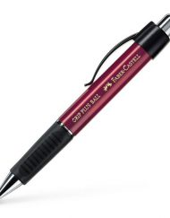 FABER-CASTELL GRIP PLUS BALLPOINT PEN RED METALLIC