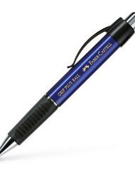 FABER-CASTELL GRIP PLUS BALLPOINT PEN BLUE METALLIC