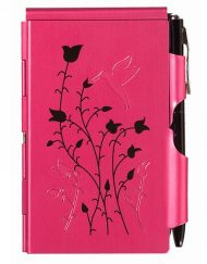 WELLSPRING FLIP NOTE RASPBERRY HUMMINGBIRD # 2235