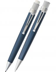 RETRO 51 ICE BLUE PEN AND PENCIL SET