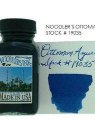 NOODLERS INK OTTOMAN AZURE