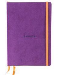 RHODIA GOALBOOK DOT A5 PURPLE