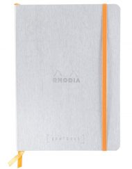 RHODIA GOALBOOK DOT A5 SILVER