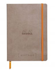 RHODIA GOALBOOK DOT A5 TAUPE