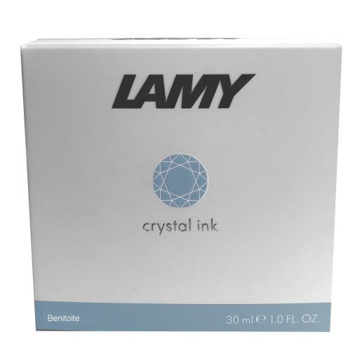 LAMY T53 CRYSTAL INK BENITOITE BLUE-GRAY