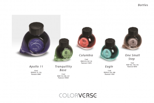 COLORVERSE APOLLO 11 50th ANNIVERSARY MOON LANDING LIMITED EDITION INK