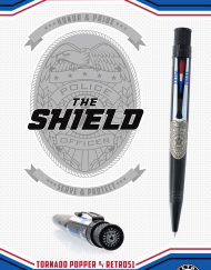 RETRO 51 THE SHIELD LIMITED EDITION POPPER